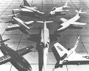 Experimentální letouny na Edwards