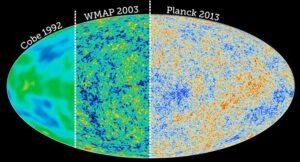 Porovnání kvality výstupních dat třech sond studujících reliktní záření.