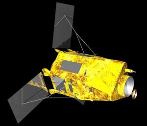 Vizualizace družice KazEOSat-1