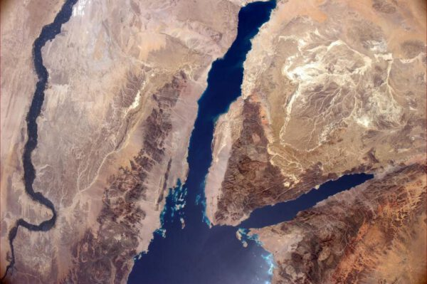 Nil, Rudé moře a Sinajský poloostrov