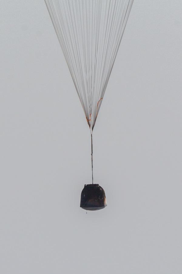 Sojuz pod padákem