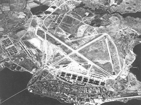 Langley Field- místo Gilruthových učednických let i prvních triumfů...
