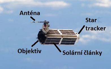 Popis satelitu Dave zdroj:nasa.gov