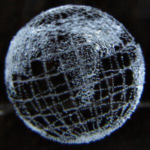 Země vytvořená laserem zdroj:flickr.com