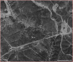 Prosinec 2013 - Satelitní snímek Vostočného ze závěru loňského roku