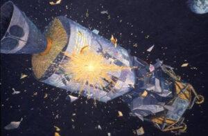 Havárie Apolla 13 dopadla dobře. Tři profesionální astronauté v kosmické lodi a početné týmy na Zemi ji dokázali zvládnout. Sověti podle Karla Pacnera přiznali, že by v takové situaci o své kosmonauty přišli. Jak by si vedli cestovka, jeden kosmonaut a Roskosmos?