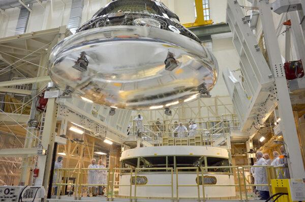 Kosmická loď Orion pro misi EFT-1