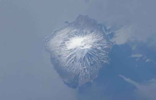 Alaid - další ze stratovulkánů na Kurilských ostrovech