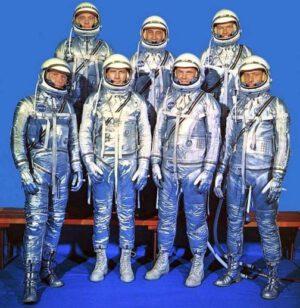 První sedmička astronautů programu Mercury