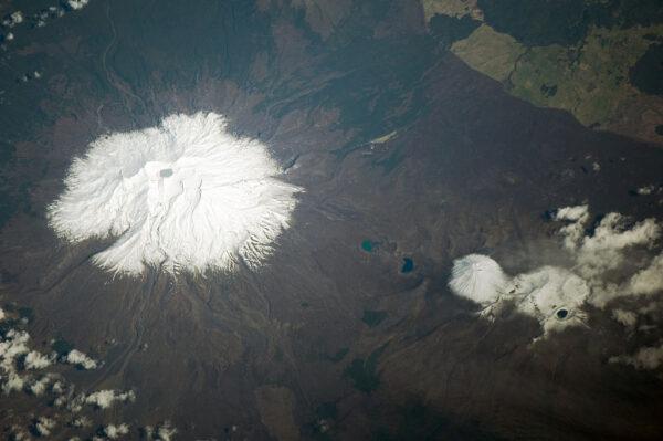 Ruapehu - Nejvyšší vrchol Severního ostrova na Novém Zélandu
