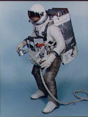 Manévrovací jednotka AMU pro Gemini
