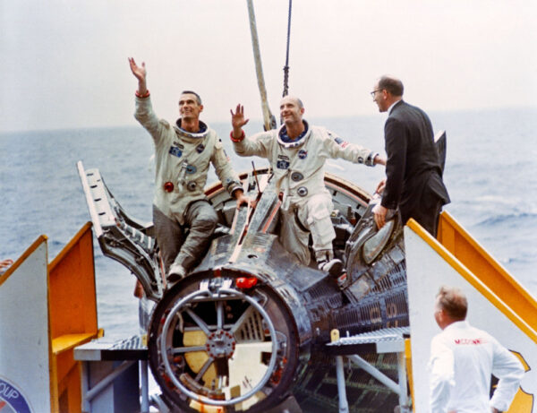 Gemini 9 po přistání