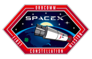 Logo letu s družicemi Orbcomm