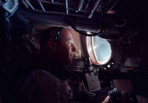 Thomas Stafford při letu Gemini 9