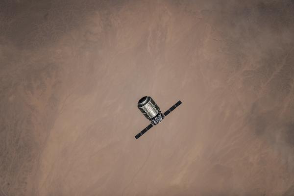 Cygnus přilétá