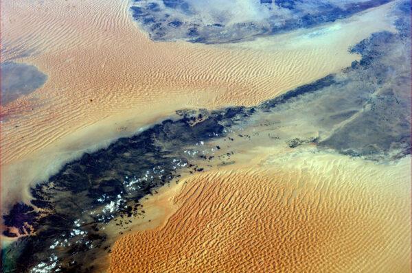 Duny na Sahaře