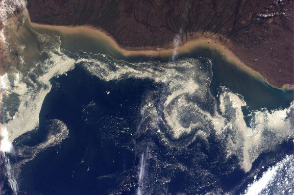 Máme sice léto ale v Labradorském moři jsou pořád ledové kry