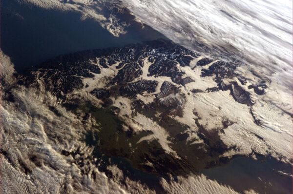 Jižní Alpy na Novém Zélandu