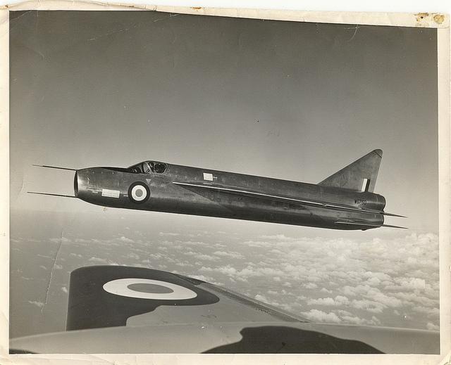 Oblíbený Dekův letoun- English Electric P.1