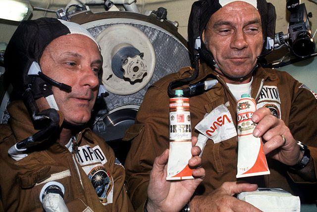 Vodka ve vesmíru? Nět problem!