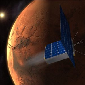 Cubesat u Marsu zdroj:timecapsuletomars.com