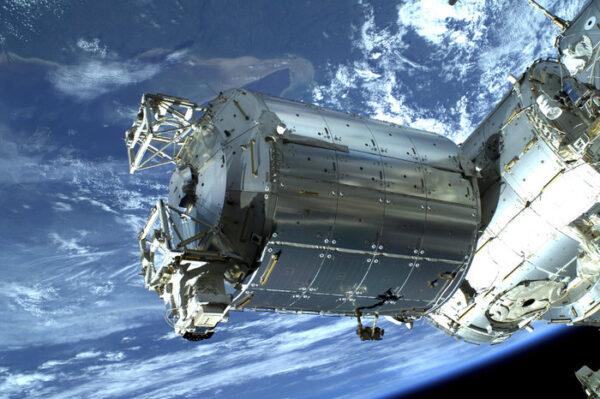 Evropský modul Columbus - zde by měl být experiment umístěný