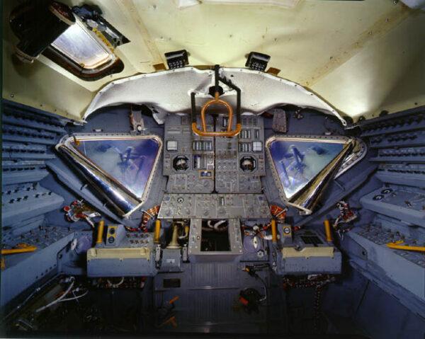 Interiér lunárního modulu