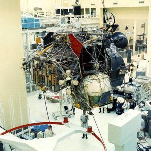 Výroba Lunárního modulu