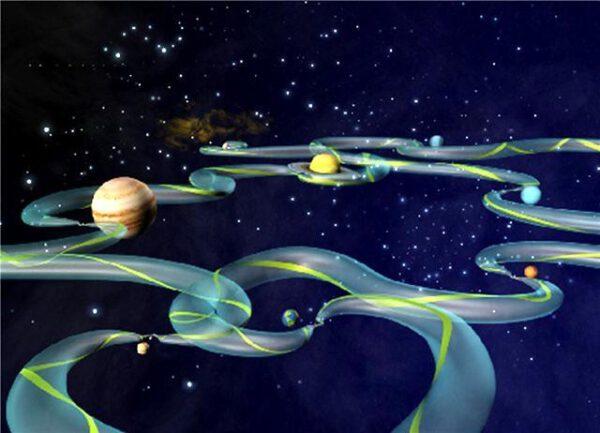 Meziplanetární superdálnice zdroj:gizmag.com