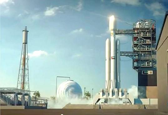 Představa SAE o letu k Marsu