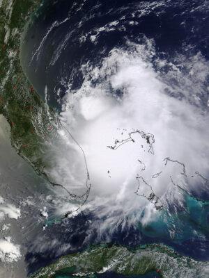 Družice Terra a její snímek pořízený 1. července