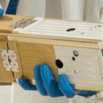 Cubesat s umístěnou solární plachtou zdroj:gizmag.com