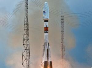 Start rakety Sojuz s družicemi O3B