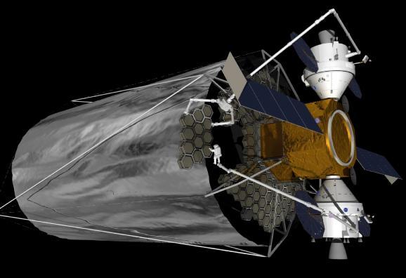 ATLAST v představách výtvarníka Kredit: NASA/STScI.