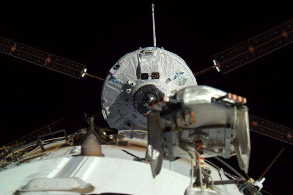 Gregory Wiseman zachytil loď ATV krátce před připojením