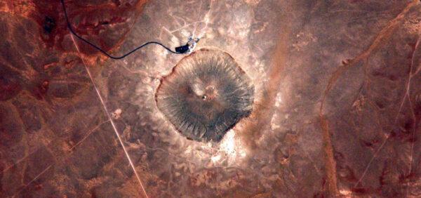 Barringerův kráter v Arizoně