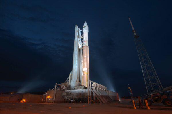 Raketa Atlas V s novým GPS satelitem