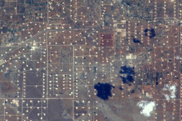 Ropná pole v Texasu
