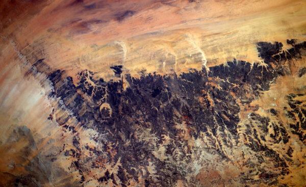 Nezvyklé tvary a barvy v čadské krajině