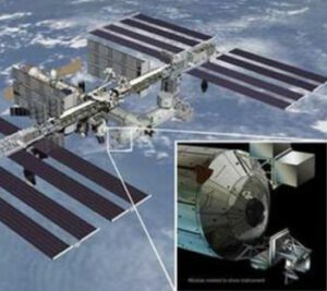 Plánované umístění přístroje ISS-RapidScat