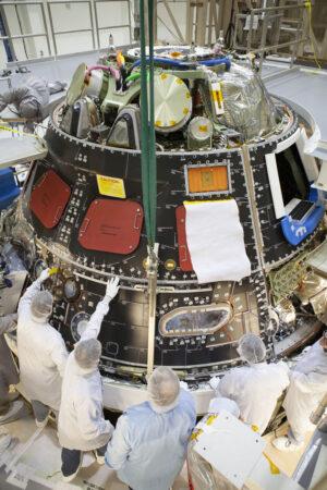 Aktuální stav lodi Orion