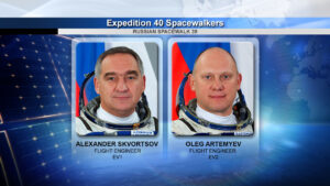 Alexandr Skvorcov a Oleg Artěmjev - dva kosmonauti, kteří se vydají na šestihodinový výstup