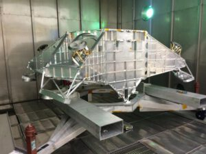 Letový hardware - kostra přistávací konstrukce