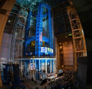 Dokončené Vertical Assembly Center