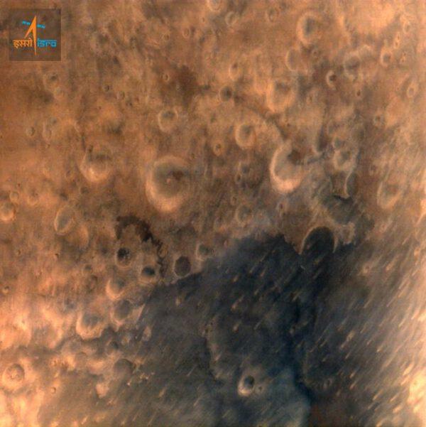 První fotka Marsu pořízená sondou Mangalyaan
