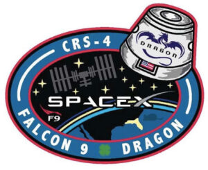 Logo mise SpaceX CRS-4