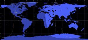 Oběžná dráha družice Kosmos 2495