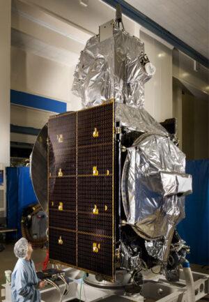 Satelit PAN během pozemních příprav