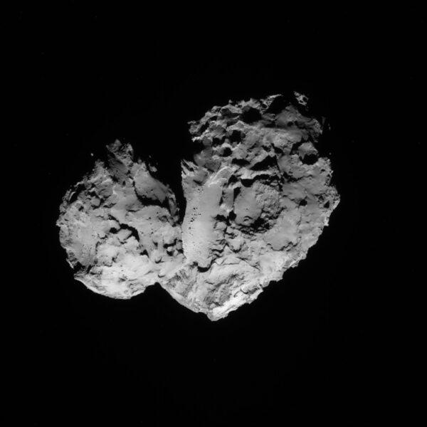 20. srpna 2014, 83 km od komety Kredit: ESA/Rosetta/NAVCAM