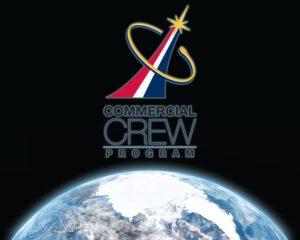 Logo amerického programu pro dopravu lidí na oběžnou dráhu v soukromých lodích